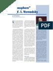 """""""Noosphere"""" by V.I. Vernadsky (G.B. Naumov)"""
