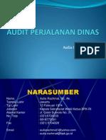 Audit Perjalanan Dinas