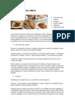 Galletas para los chicos - Chocolate chip cookies – Coquitos - Pretzels salados - Galletotas - Galletas de avena
