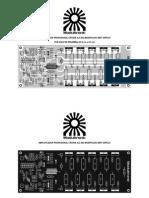 PCB Espejo Amplificador Profesional Crown XLS 602 Modificado