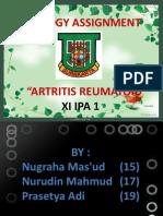 reumatoid atritis