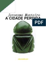A Cidade Perdida Jeronymo Monteiro