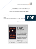 CEEOL, Critica Literara - Roman