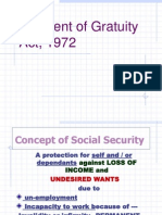 Payment of Gratuity payment og gratuity act by Act ROHAN