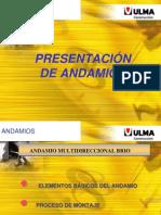 Montaje de Andamios