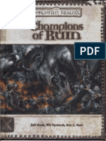 D20 - Forgotten Realms Champions of Ruin