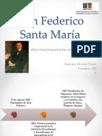 Don Federico Santa María