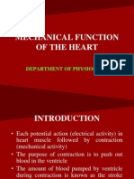 Mechanical Function of the Heart
