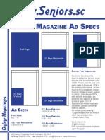 Seniors Magazine Ad Specs