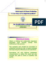 1 Process Related Aspects of Clener Prodution by Dr. Mahendra Sadariya