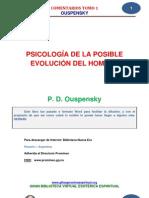 Psicologia de La Posible Evolucion Del Hombre p.d.ouspensky