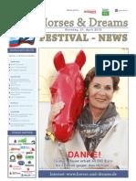 Horses & Dreams meets Russia Turnierzeitung Sonntag