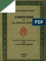Lucio Anneo Floro - Compendio De Las Hazañas Romanas