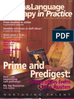 Speech & Language Therapy in Practice, Spring 2003