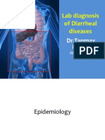 Lab Diagnosis of Diarrheal Diseases