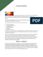 Targeting Markets