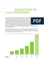 Intro to Crowd Funding