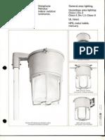 Holophane Petrolux Series Brochure 4-77