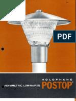 Holophane Postop Series Brochure 6-70