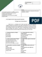 evaluación 3 lenguaje