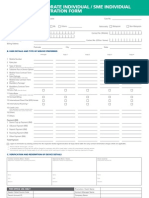 Uber Geek Corporate SME Individual Registration Form