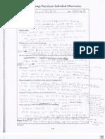 Observation Notes- Oral language Assessment