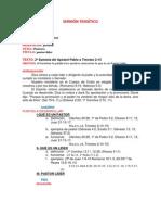SERMÓN TEMÁTICO. doctrinal docx