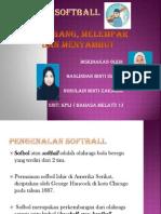 Softball Perbentangan