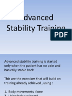 Advanced Stability Training