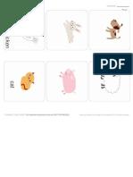 Mrprintables Animal Flash Cards