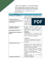 Ficha Tecnica Para Los Proyectos Identificados