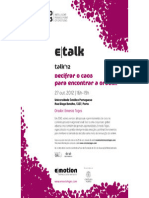 Sinopse Talk12