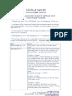 LEGAL EAGLES 2014 Conference Program