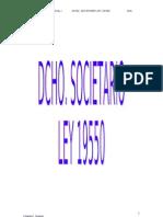 Dcho Comercial I
