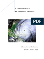 Cambio Climatico (Perspectiva Geologica)