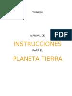 Hunt Trinidad - Manual de Instrucciones Para El Planeta Tierra