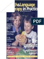 Speech & Language Therapy in Practice, Summer 2001