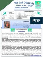 Boletin Rotary N° 23 Febrero_Marzo 2013