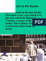 The Crack in the Kaaba