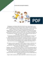 JOGOS NA EDUCAÇÃO INFANTIL