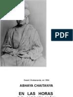 Abhaya Chaitanya - En las Horas de Meditación