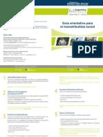 Guía para monotributistas sociales de la pcia. de Buenos Aires