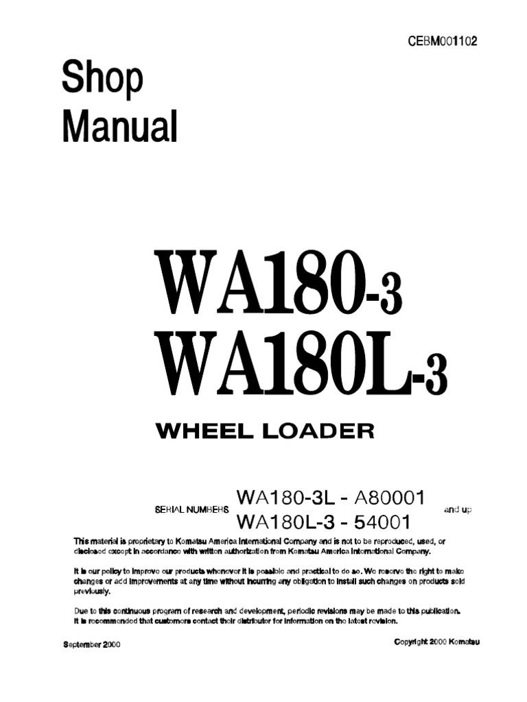 Wheel loader shop manualpdf motor oil axle sciox Gallery