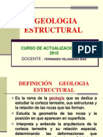 CURSO GEOLOGIA ESTRUCTURAL