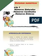 M1 Numeros Naturales y Enteros