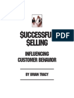 Influencing Customer Behavior