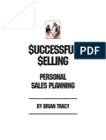 Personal Sales Planning