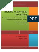 Resumen Conceptos, Desarrollo y Generalidades de HS Industrial