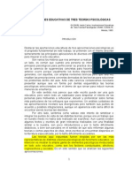 Fed Implicaciones 3 Teo. Psicologs