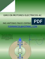 Giro en Motor Es Electric Os